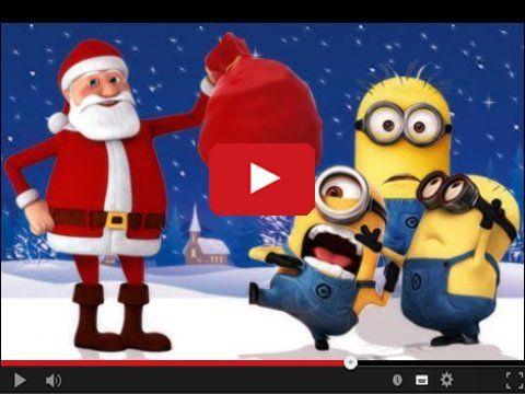 Minionki i Święty Mikołaj