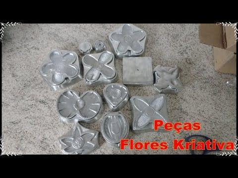 DIY - Meus Frisadores novos da Flores Kriativa 100% qualidade e melhor preço - YouTube