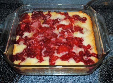Strawberry Cobbler With Bisquick This Dessert Was Gone