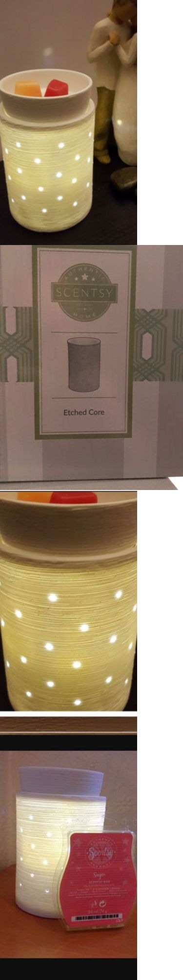 Other Home Fragrances 36925: Etched Core Electrical Wax Melting Warmer, Lights -> BUY IT NOW ONLY: $32 on eBay!