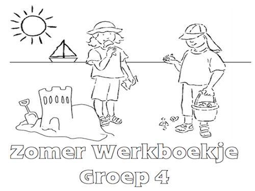 Zomer Werkboekje Groep 4