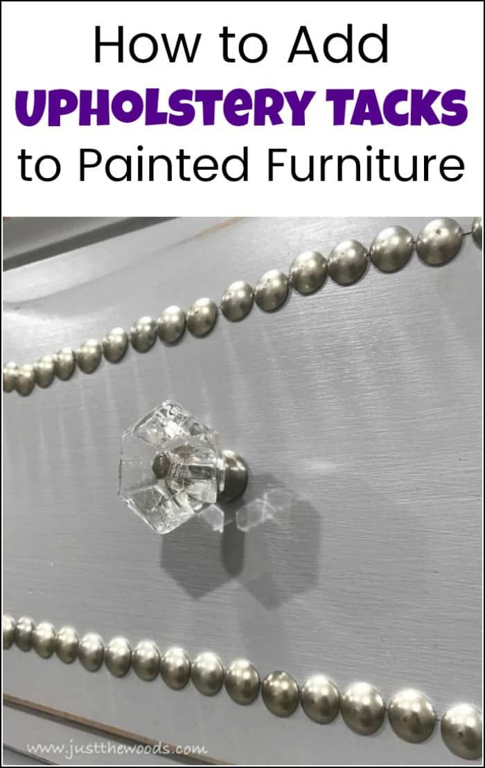 Make your Furniture Extraordinary with Upholstery Tacks
