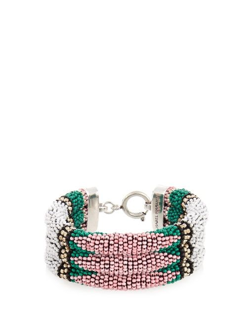 GABRIELLE'S AMAZING FANTASY CLOSET | Isabel Marant Ska beaded bracelet