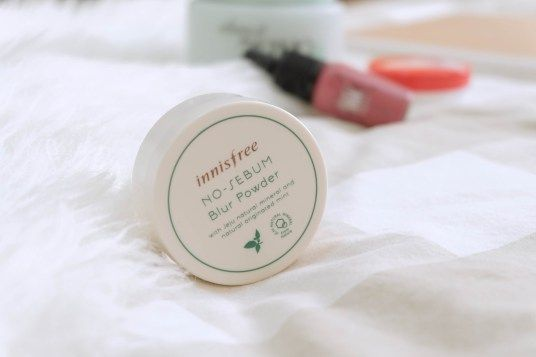 The best mattifying powder from Innisfree!