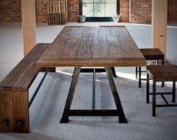 Stół Industrialny A-frame - zdjęcie od Kornik
