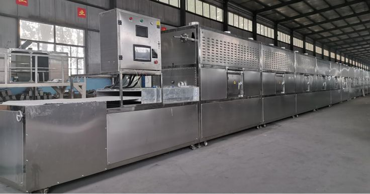 Microwave Wood Drying Equipment Makes Wood Core Humidity