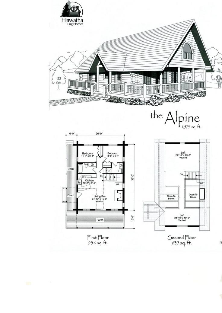 Alpine floor plans log home floor plans how to build a