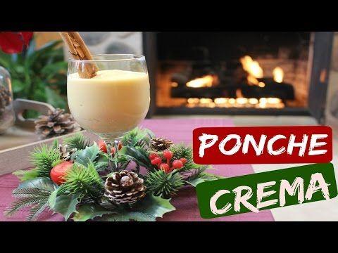 Ponche Crema delicioso receta super fácil y completa - YouTube