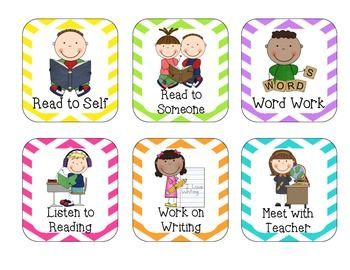 Literacy Center Cards {Freebie}