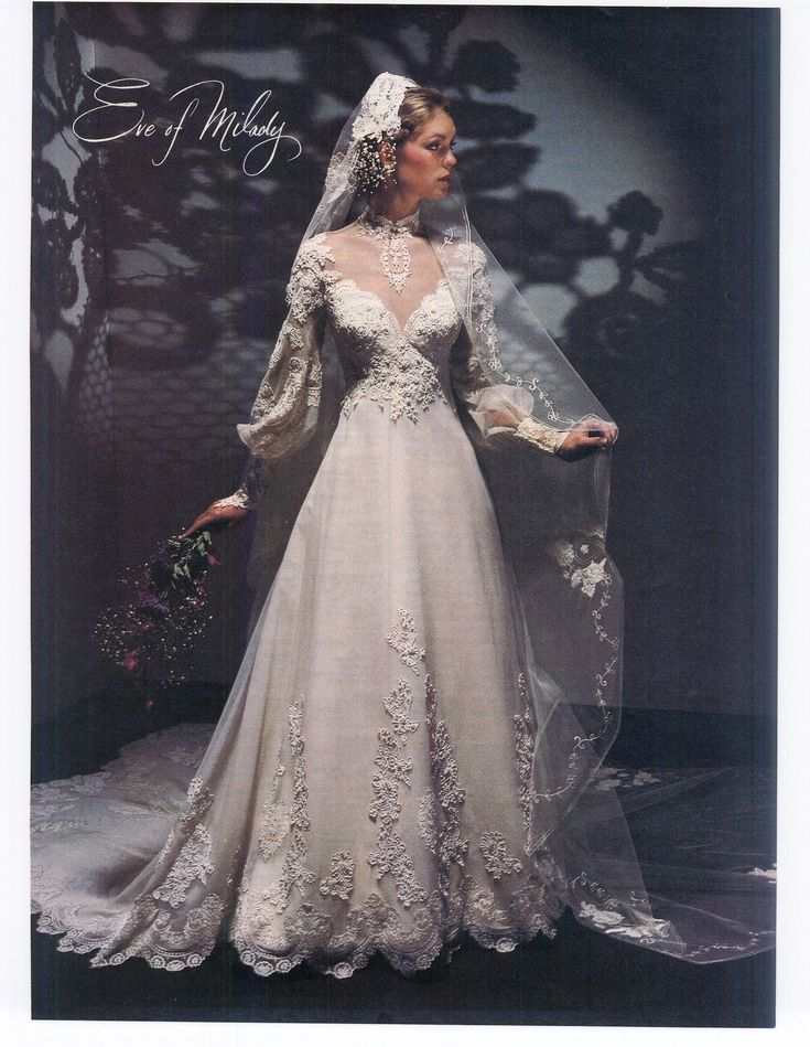 1983 Gorgeous Eve Of Milady Gown I Would Wear That Today