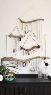 Super Diy Jewelry Necklace Holder Display Ideas 45 Ideas#display #diy #holder #ideas #jewelry #necklace #super #jewelrydisplay