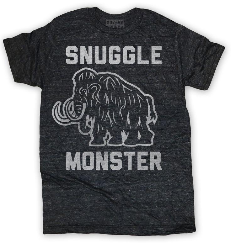 Snuggle Monster Mens Tee Black – Buy Me Brunch