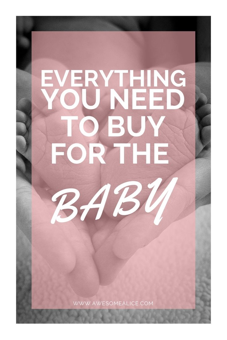 Newborn baby checklist! The weeks flies by when you're pregnant and it's not long before the third trimester is here. If you wait too long before you start preparing for the baby's arrival, you will become overwhelmed. Click here to get a checklist of everything you need to buy for the baby.