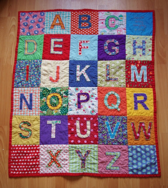 Stories in Stitch...: A quilt for Cooper...