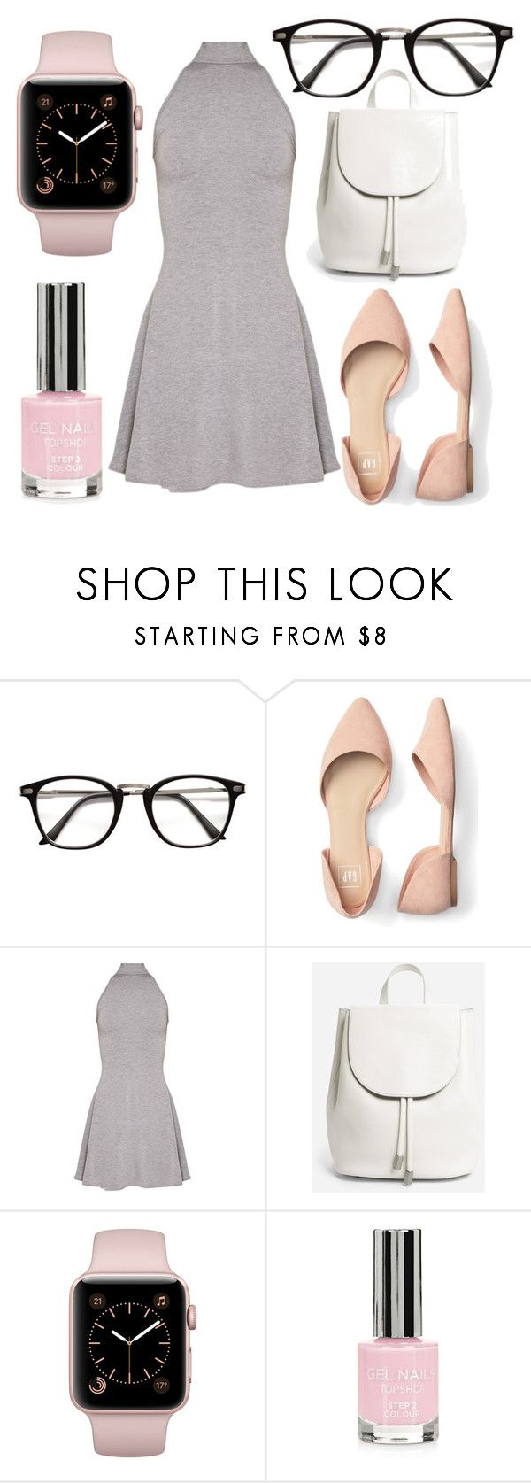 """""""Untitled #47"""" by nikireds on Polyvore featuring Everlane and Topshop"""