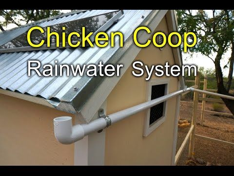 """rainwater system - I would only do this if a hose wasn't close by, water was scarce or if I just needed a """"project""""  ---- great idea though......"""