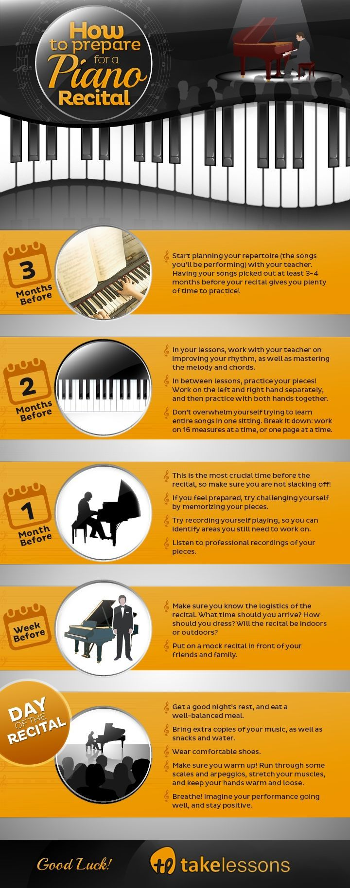 How to Get Ready for Your First Piano Recital