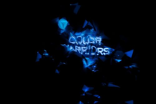COLOR WARRIORS : INTERACTIVE + VIDEO MAPPING INSTALLATION BY WILLPOWER STUDIOS / WILLIAM ISMAEL   WWW.WILLPOWERSTUDIOS.COM
