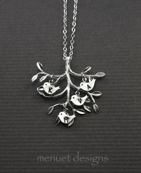 Hey, I found this really awesome Etsy listing at http://www.etsy.com/listing/166501074/family-tree-bird-necklace-personalized