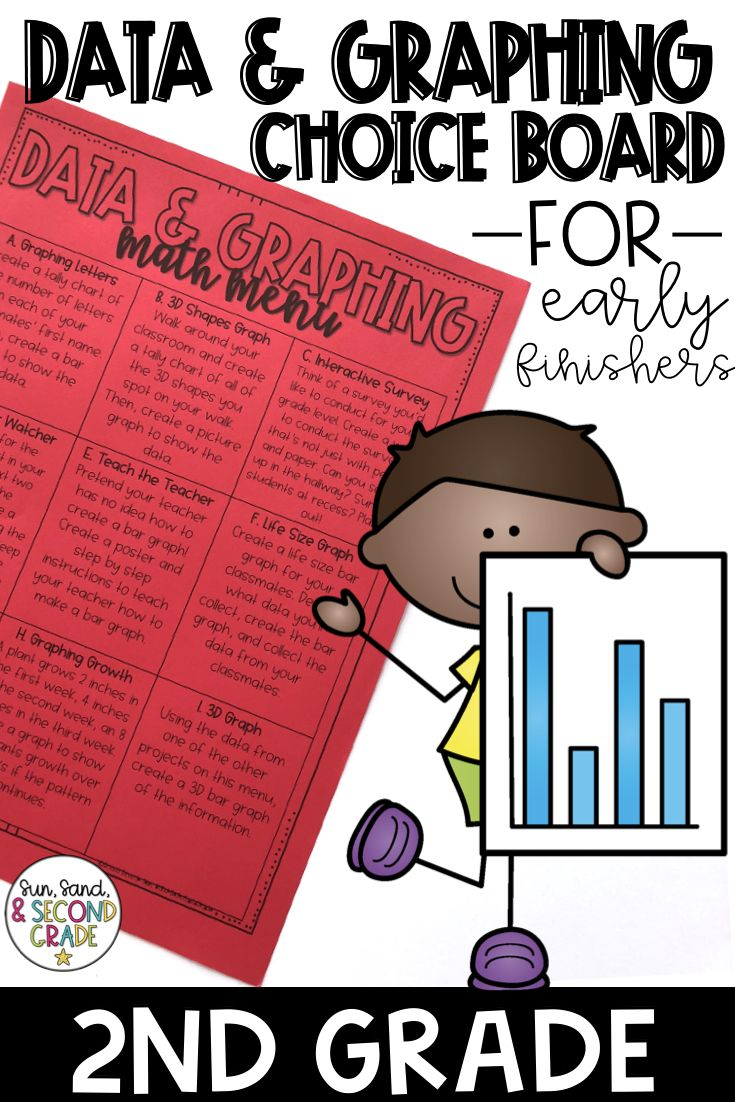 small resolution of Data and Graphing Math Menu and Enrichment Activities   Math methods