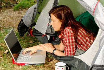 Do you work on the road? Check out the best ways on how to get WiFi when you're out on a camping trip, RVing or just on a road trip
