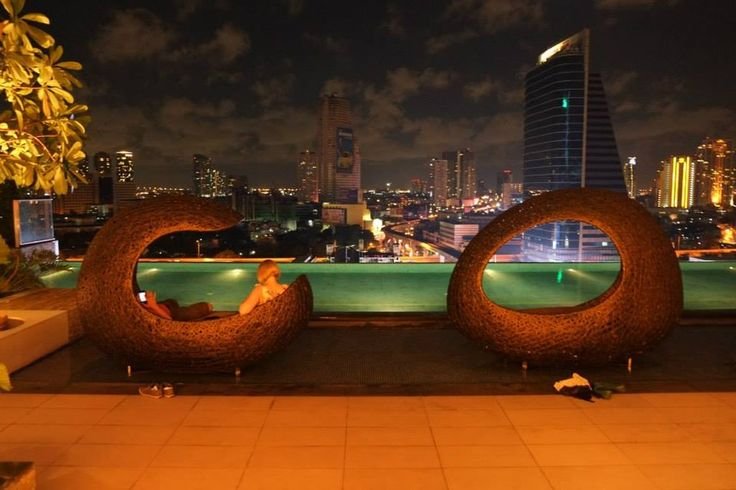 Pool in the 14th floor, Eastin Grand Hotel Bangkok