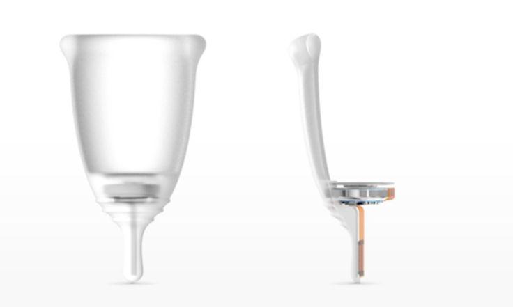 Looncup, o copo menstrual inteligente