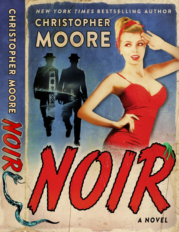 Book Giveaway! A signed copy of the fantastic Christopher Moore's new novel 'Noir'. Please sign up with the link below and share with your friends. #giveaway #christophermoore #fiction ##bookgiveaway