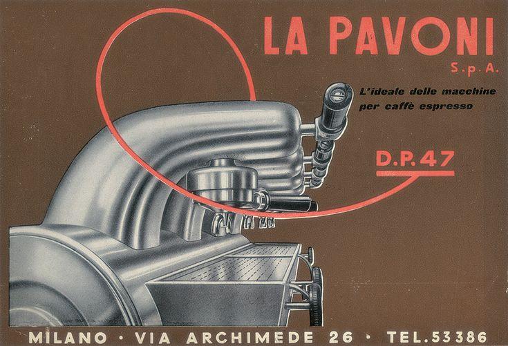 Macchina per il caffè: La Cornuta by Giò Ponti for La Pavoni - News & Stories at STYLEPARK