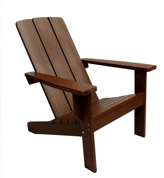 Adirondack Chair Designs adirondack chairs wood furniture Adirondack Chair Modern Style Made From Poly Wood