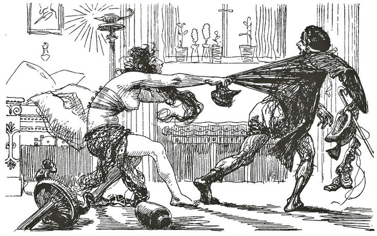 comparison between the aeneid and the Running head: aeneid vs the iliad and the odyssey in conclusion, because virgil referenced the great epics of homer when writing aeneid, there are many similarities between his story and those of his inspiration.