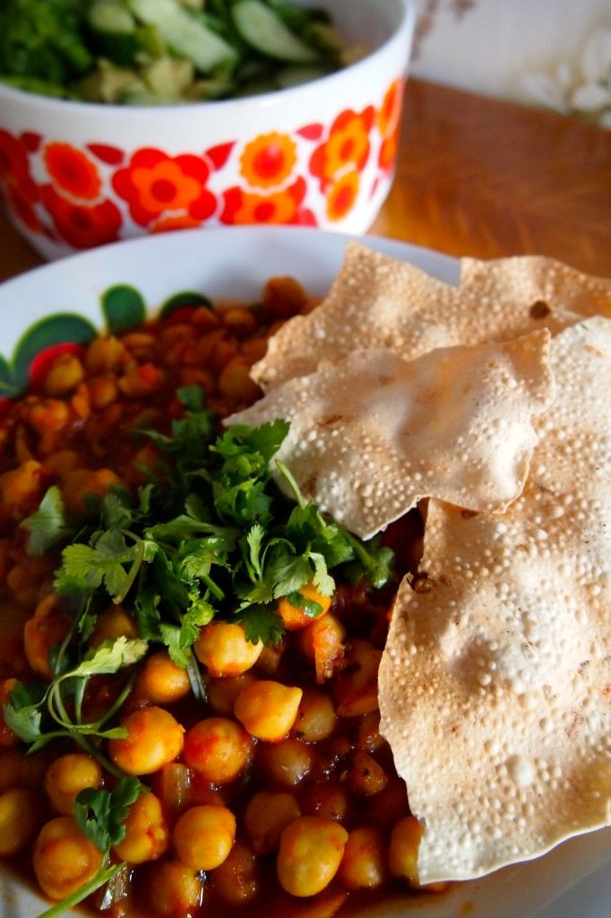 Recept: Chana Masala