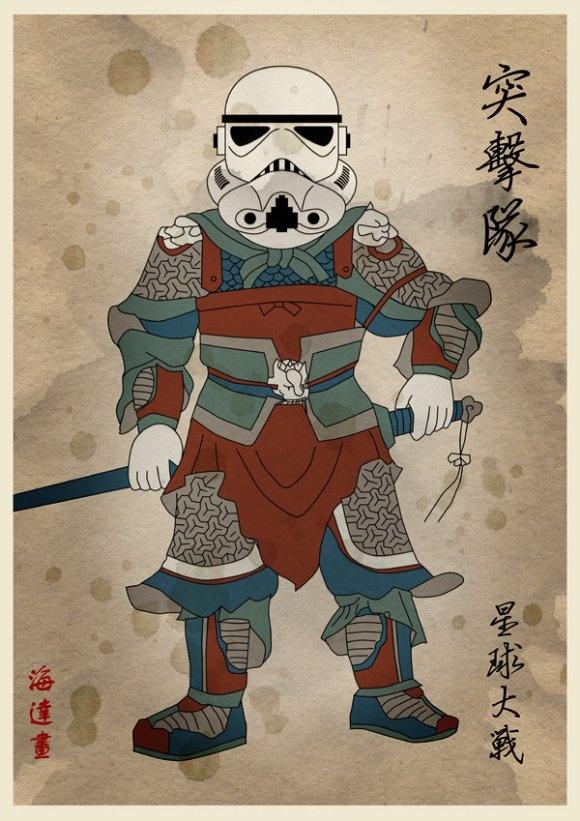 まるで三国志!中国武将風の『スター・ウォーズ』が激カッコイイと話題に | ロケットニュース24