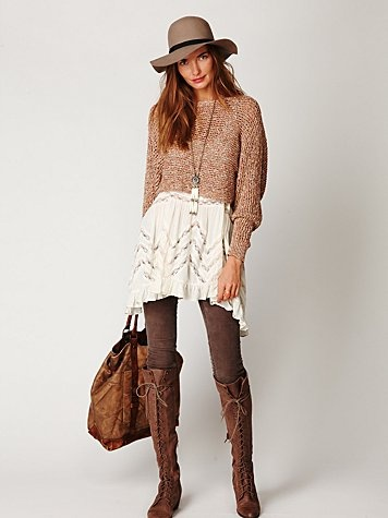 love every last detail of this ensemble. free people!