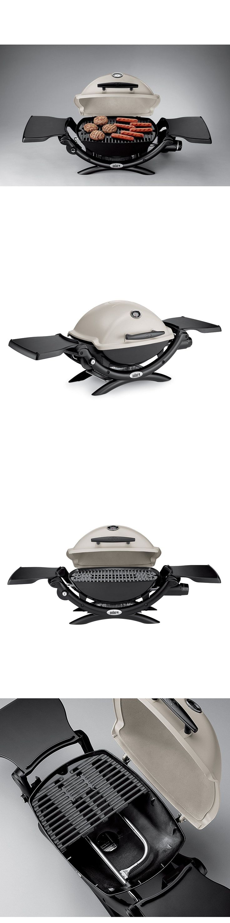 Barbecues Grills and Smokers 151621: Weber Q1200 Propane Portable Tabletop Gas Bbq Grill Titanium (51060001) Brand Nw -> BUY IT NOW ONLY: $184.99 on eBay!