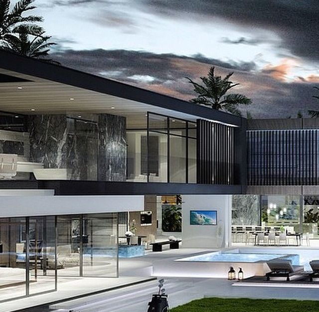 Pin By Mohamed O On Modern Villas: Pin Di Giorgia🇺🇸 Su Luxurious And Modern Villas Nel 2019