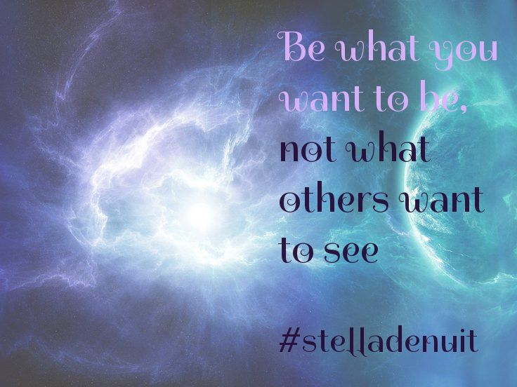 #be #yourself #stelladenuit #spiritual #advice #facebook #like #follow