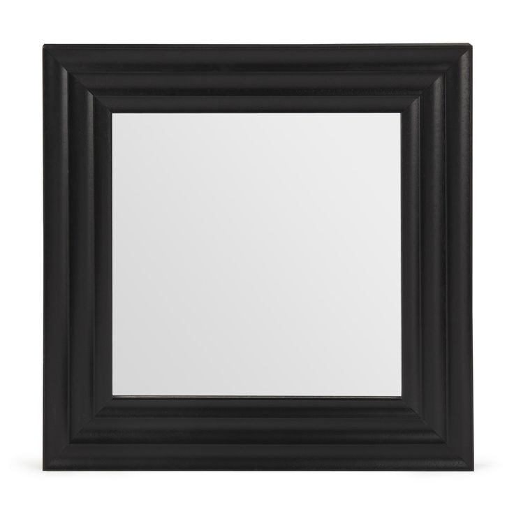 1000 id es sur le th me miroirs carr s sur pinterest for Miroir carre blanc