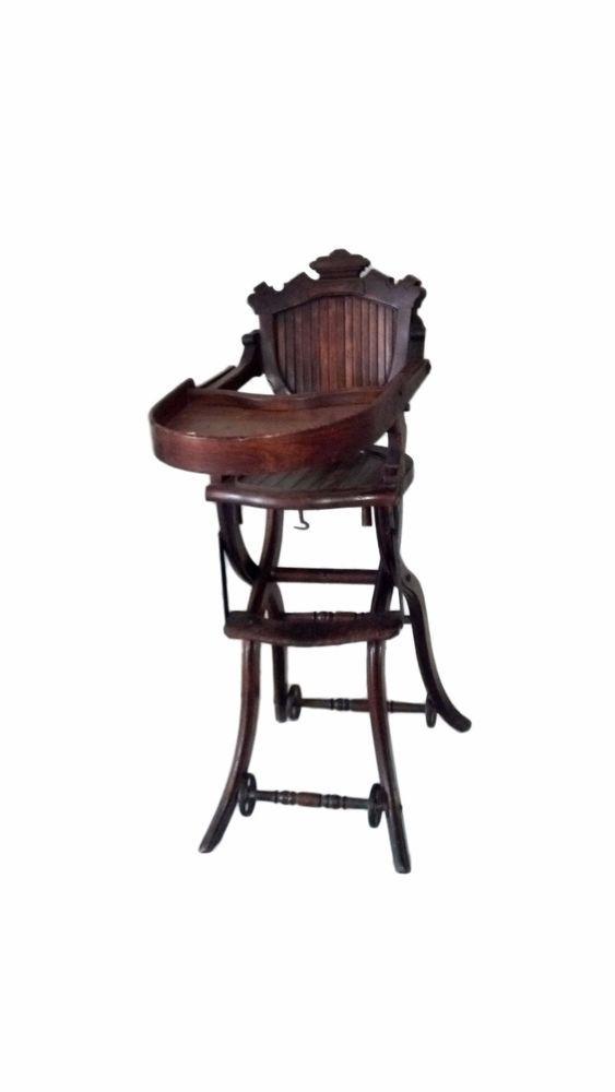 Victorian High Chair, Antique High Chair, Vintage High Chair #Victorian