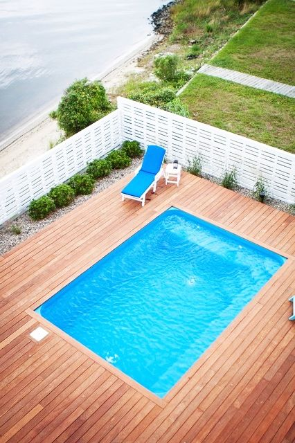 Pools Classic Square Above Ground Pool Decks With Flashy