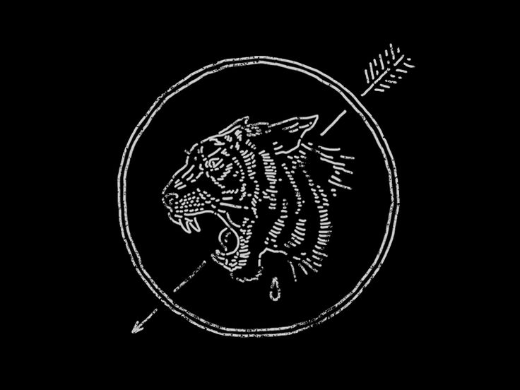 Tiger Badge by Ben Kocinski