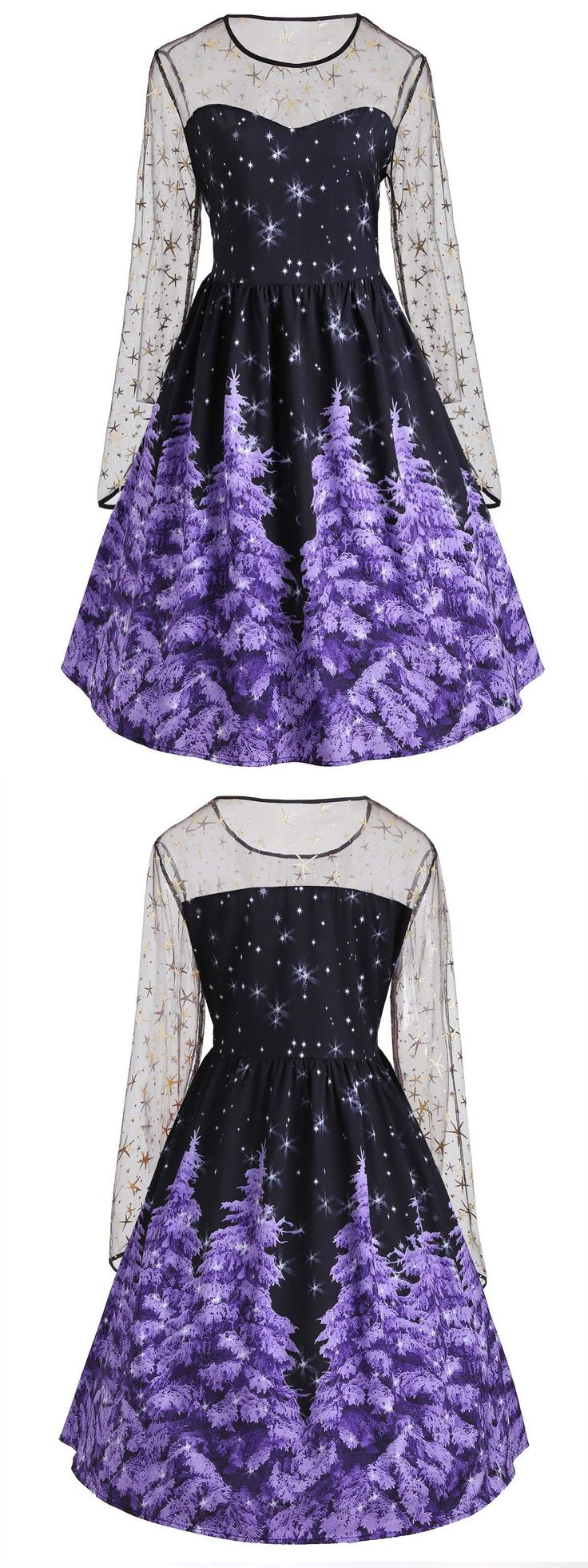 Up to 80% off,Wholesale Plus Size Mesh Insert Christmas Tree And Star Print Dress 5xl Purple Online. Cheap Plus Size Summer Dress And Christmas Plus Size Sweater on Rosewholesale.com,rosewholesale,rosewholesale.com,rosewholesale clothing,rosewholesale dress plus size,christmas dress,purple,christmas crafts,christmas decor diy,christmas gifts,Christmas dress for women,extra 10% off coupon code:HALLOWEEN