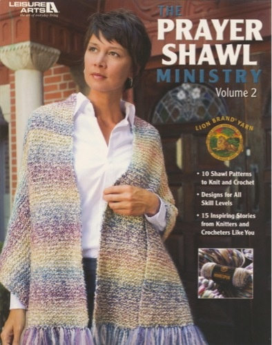 This eagerly anticipated second volume of The Prayer Shawl Ministry book includes 10 shawl patterns to knit or crochet and a heartwarming follow-up on the ministries introduced in the first book. Readers will identify with the dozens of letters to The Lion Brand Yarn Company from individuals sharing what the ministry means to them. This photo-rich book also includes prayers for many occasions and concerns, a handy guide to Lion Brand H