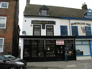 I always remember this shop in Great Yarmouth!  Wheatleys - Jewellers in Town Centre, Great Yarmouth, Northgate Street