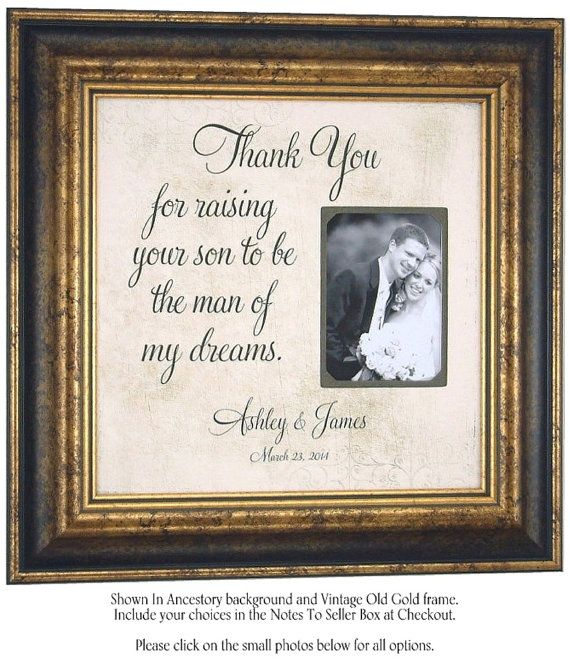 Mother of the Groom Parents of the Groom by PhotoFrameOriginals, $89.00