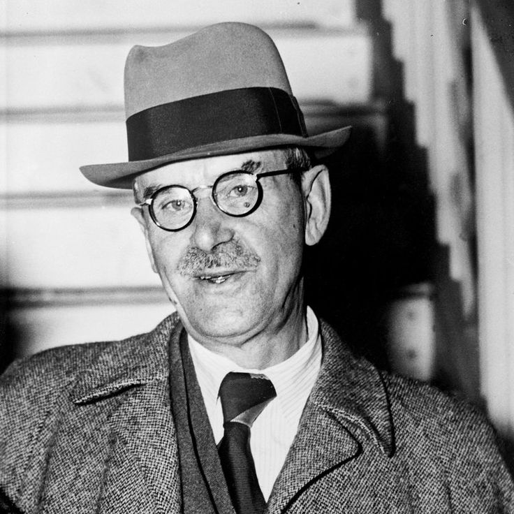 """The German writer Thomas Mann, in July 1949. Mann, a Nobel laureate, left Germany in the 1930s when Hitler rose to power, and he was based at the property in California when he wrote """"Dr. Faustus."""" Credit Agence France-Presse — Getty Images  The German government has bought the Los Angeles home where the novelist Thomas Mann lived from 1942 to 1952."""