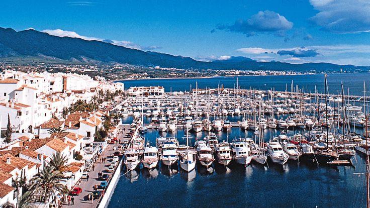 Puerto Banús in Marbella, Andalucía