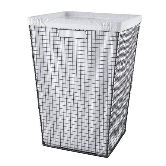 Kids Storage: Wire Clothes Hamper in Hampers and Storage   The Land of Nod