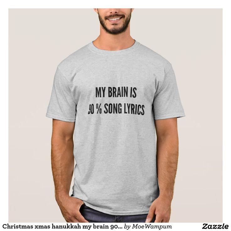 Christmas xmas hanukkah my brain 90% song lyrics