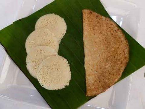 Millet Idli and Dosa Recipe via Show me the Curry.  Printable recipes at http://showmethecurry.com/breads/millet-bajra-idli-dosa.html